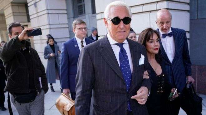 Roger Stone has maintained all along that the case against him is politically motivated