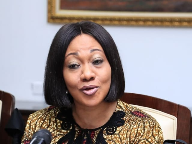 Jean Mensa speaks highly of Ghana's 'historic' 2020 elections to Ecowas