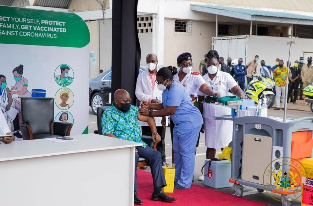 Ghana receives 50k additional vaccines from India