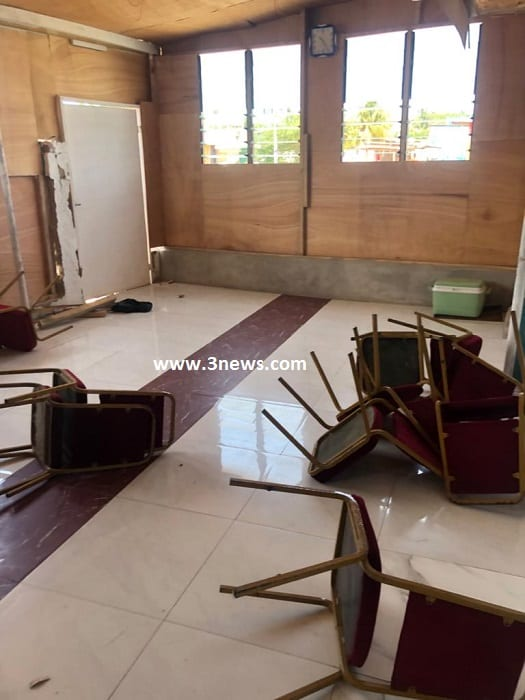 Chaos in Ablekuma West NPP as thugs disrupt press conference