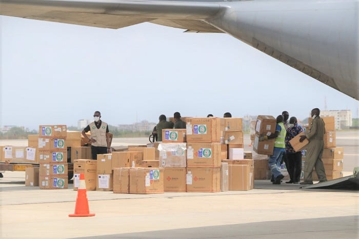 Ghana receives critical Covid-19 medical supplies