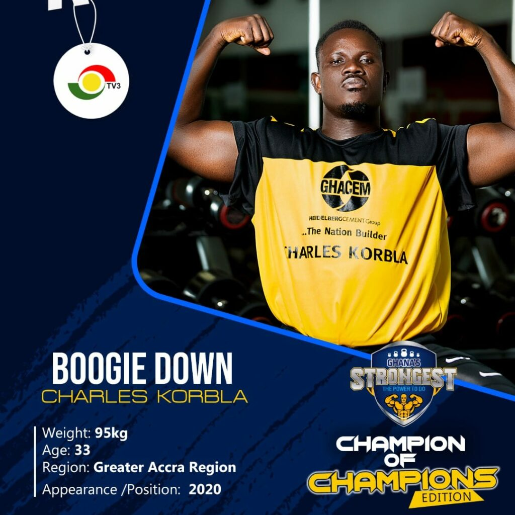 Ghana's strongest Champion of Champions contestants unveiled
