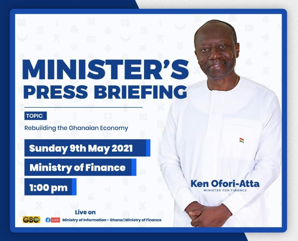Ken Ofori-Atta to speak on 'Rebuilding the Ghanaian Economy'
