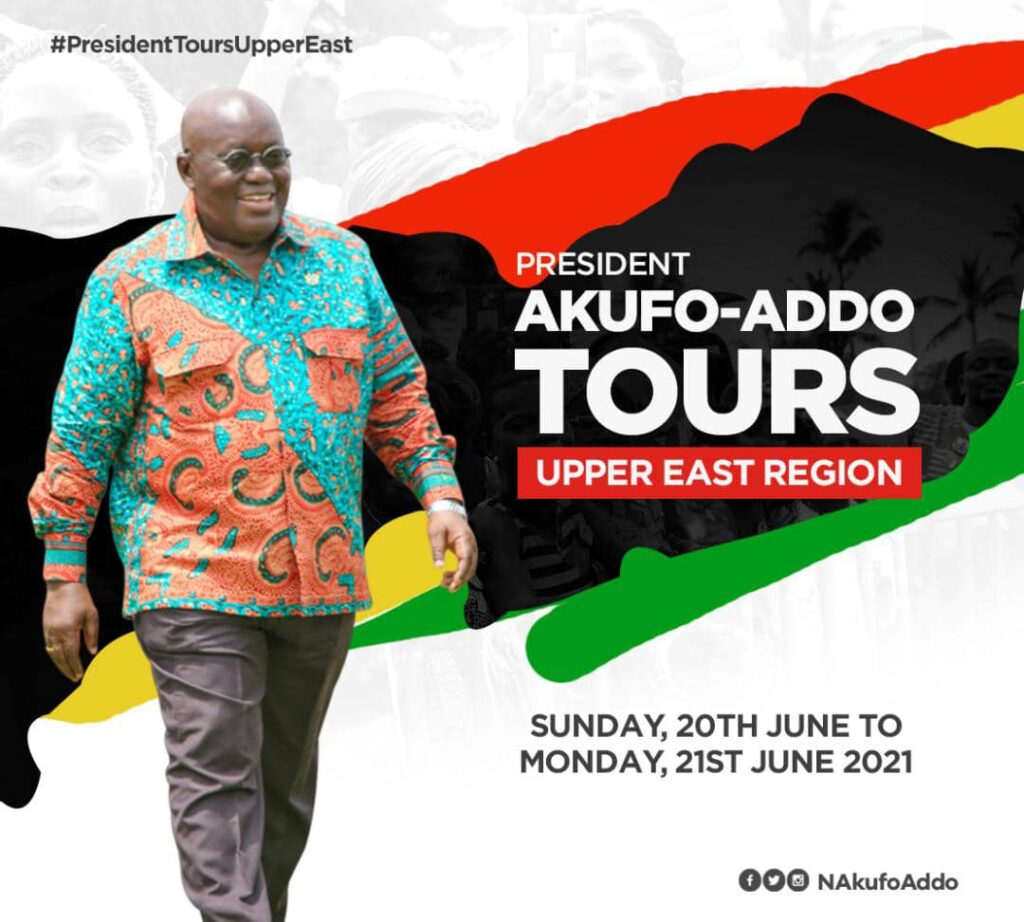 Akufo-Addo in U/E for 2-day official tour